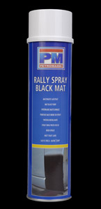 PM RALLY SPRAY BLACK MAT